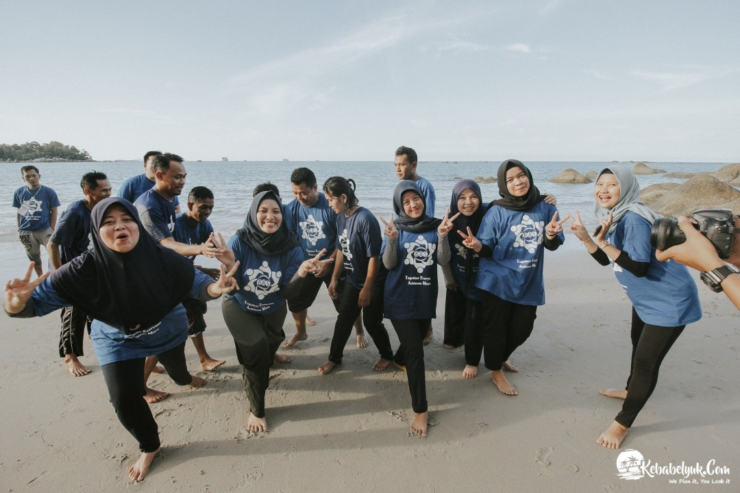 Paket Outbound Bangka - Outbound BPR Anugrah Swakerta 2019