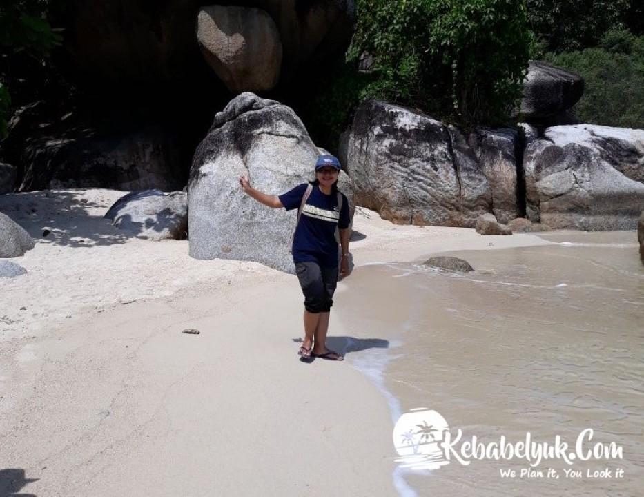 Ibu Sri Endah Dari Jogja Ke Bangka Belitung Desember 2017