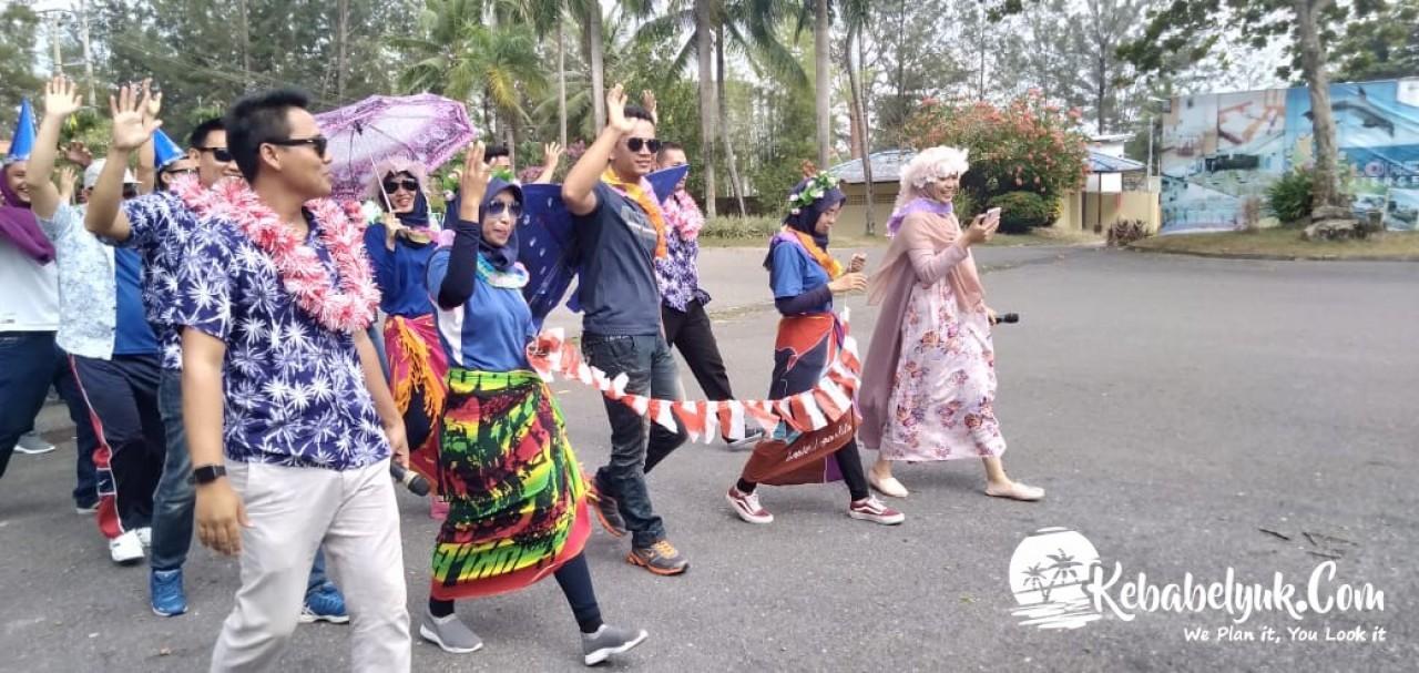 Outbound Bangka - Dokumentasi Outbound Bank Indonesia Perwakilan Bangka Belitung