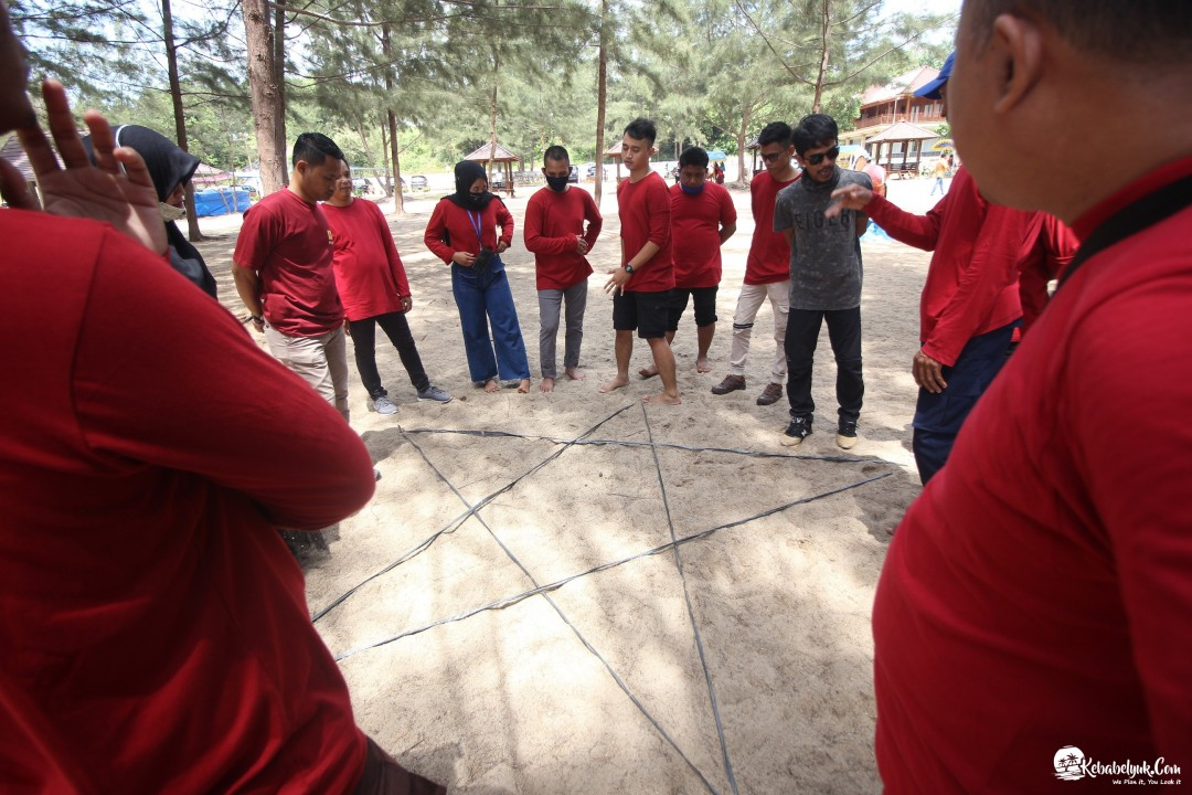 Outbound Capacity Building PT. Haleyora Powerindo Bangka Belitung 2020