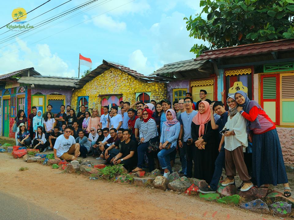 Corporate Outbound PT SRM Indonesia Belitung 2 Hari 1 Malam
