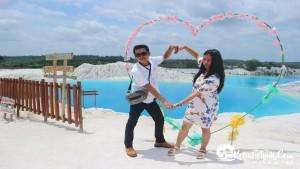 Pengantin Baru Pak Adrio Paket Tour Bangka