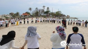 Dokumentasi Outbound Trainning Bangka Belitung