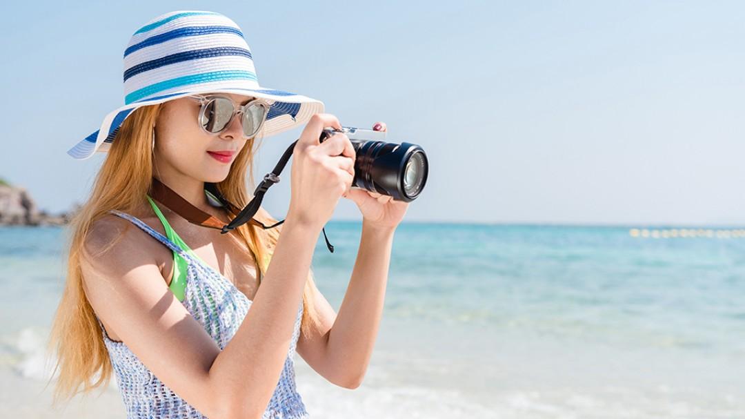 Begini! Trik Foto Pantai Di Belitung Terlihat Lebih Menarik