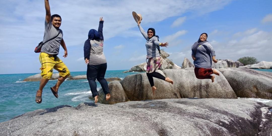 Berikut Spot Photo yang Wajib Anda Ambil di Pulau Lengkuas Belitung