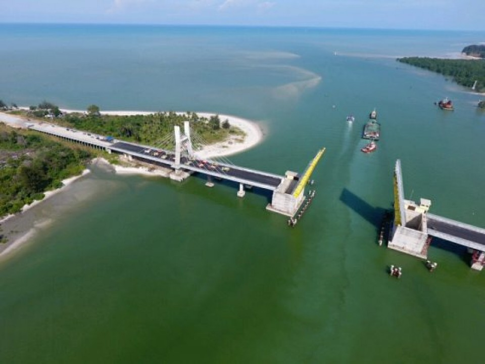 Jembatan Emas, Menjadi Ikon Pariwisata Baru Bangka Belitung