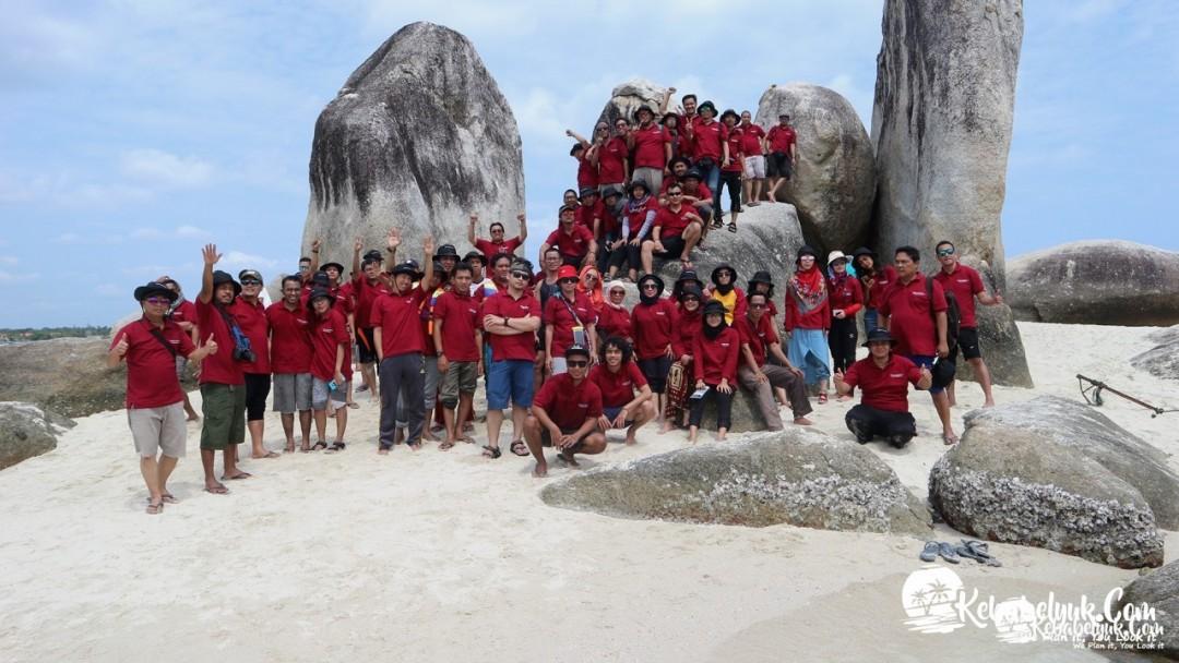 Asiknya Suasana Kegiatan Outbound MEDIA GATHERING BAWASLU RI 2018 di Belitung