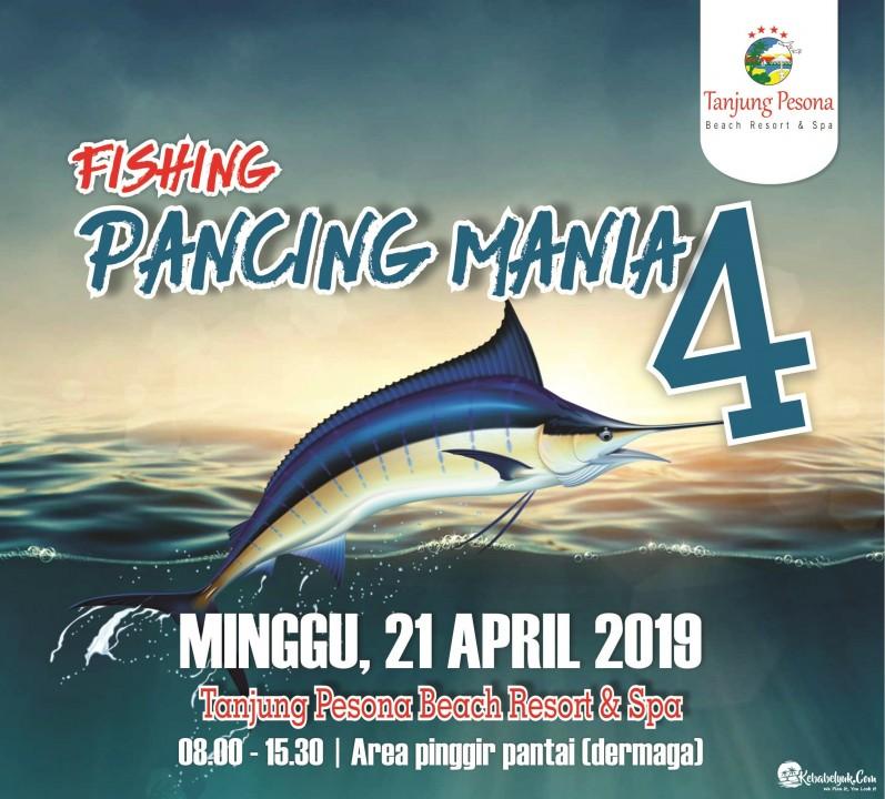 Pancing Mania 4 Tanjung Pesona Beach Resort