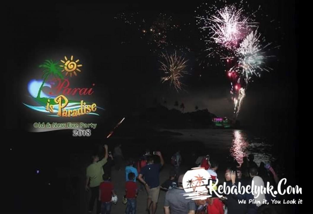 Perayaan Tahun Baru 2018 di Parai Beach Resort & Spa Berlangsung Meriah