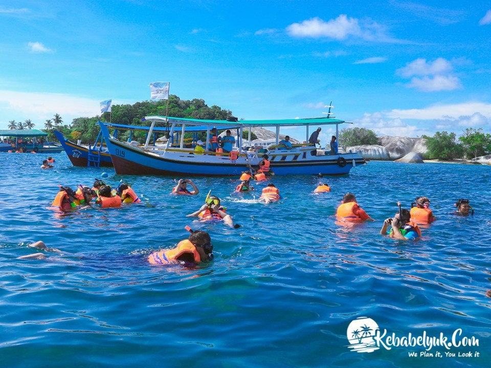 Sewa Boat Belitung, Boat Island Hopping | Belitung Tour