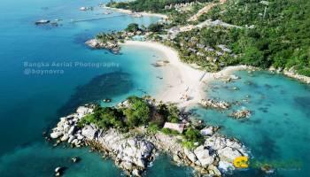 5 Foto Drone Keindahan Destinasi Wisata Bangka Belitung