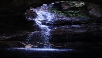 Air Terjun Batu Belubang , Desa Bebura Bangka
