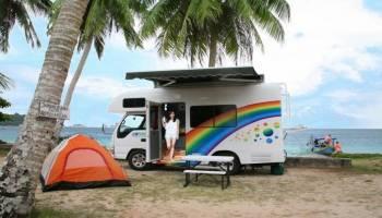 Berwisata Dengan Kosep Motorhome Di Belitung