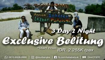 Harga Paket Tour Belitung Tanpa Hotel 3 Hari