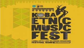 Informasi Pendaftaran Koba Etnic Music Festival