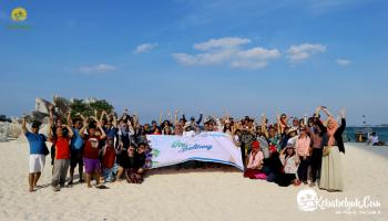 RSM Indonesia mengadakan kegiatan Outbound di Belitung Juga Loh,..