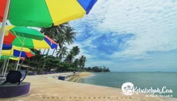 Inilah Penampilan Terbaru Pantai Pasir Kuning Tempilang Bangka Barat