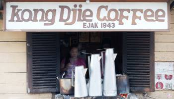 Rasa Kong Djie Coffe Belitung Tidak Ada Duanya