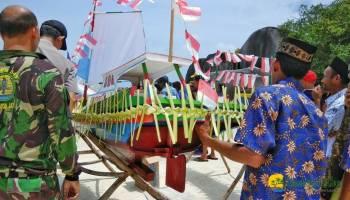 Masyarakat Sijuk Belitung Megadakan Ritual Adat Muang Jong