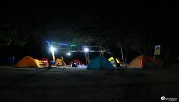 Sensasi Camping di Pantai Bangka