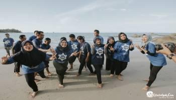 Serunya BPR Anugrah Swakerta Outbound di Tanjung Pesona Bangka