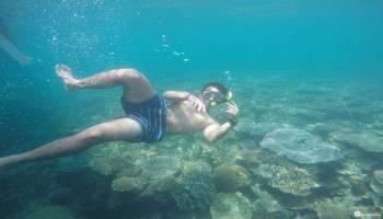 Selain Otak - Otak Yang Enak, Belinyu Juga Memiliki Spot Snorkeling Yang Bagus