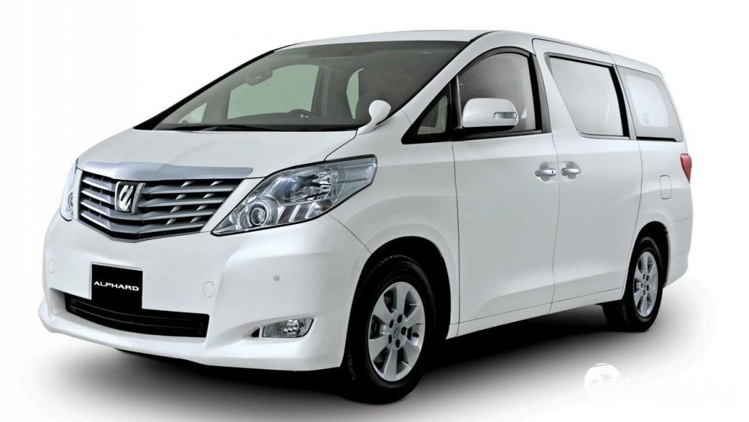 Rental Mobil Alpard Belitung