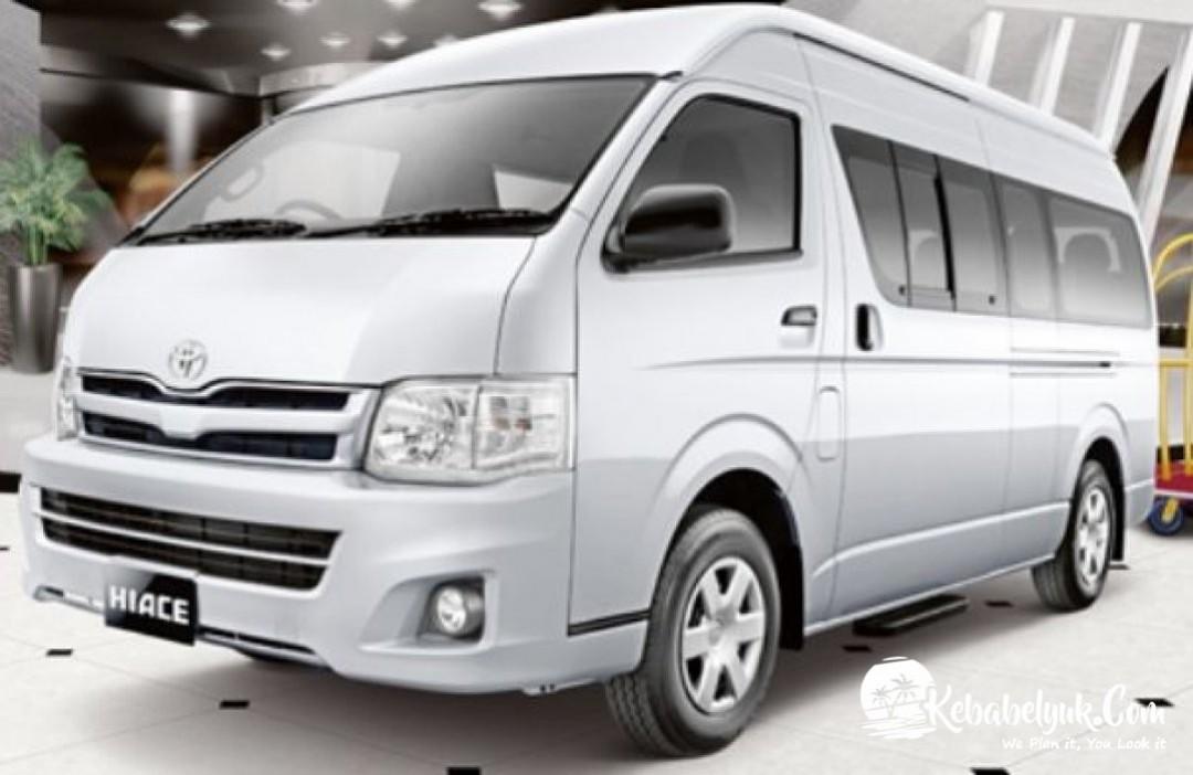Rental Mobil HIACE Belitung