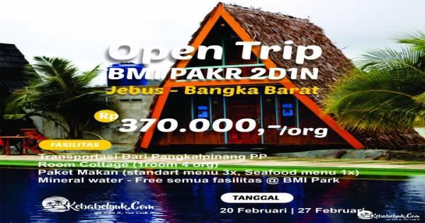 Opentrip BMI Park 2D1N (20 & 27 Februari 2021)