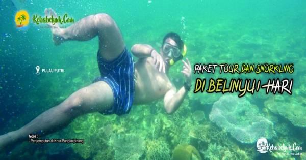 Paket Belinyu dan Snorkeling di Belinyu