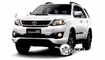 Rental Mobil Fortuner Belitung