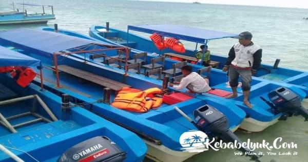 Sewa Perahu Wisata Pulau Ketawai