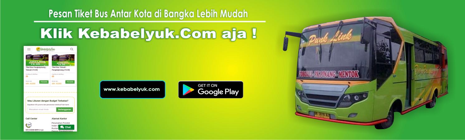 Banner Paket Wisata Belitung